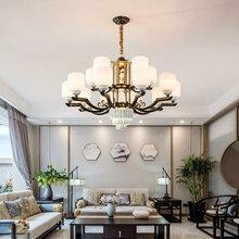 新款欧式吊灯奢华大气简约客厅吊灯创意别墅餐厅卧室灯图片