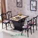 深圳餐廳家具定制火鍋店桌椅定制火鍋桌椅圖片餐廳家具廠家