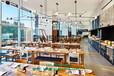 西餐廳桌椅定做餐廳家具批發廠家餐廳桌椅圖片