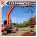 供应挖掘机液压螺旋钻机、广州挖掘机钻坑机厂家直销