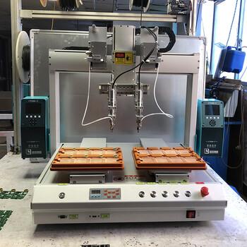 厂家全自动双工位焊锡机多轴焊锡机器人自动送锡机加工设备
