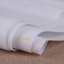 工廠批發白色阻燃針刺棉出口熱溶針刺棉氈圖片