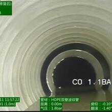庆元管道视频检测如何使用城镇排水管道非开挖修复图片
