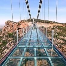 高空玻璃吊桥厂家告诉您应该遵守什么原则图片