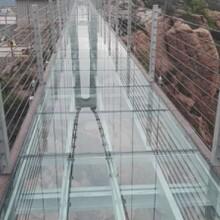 景区高空木质吊桥安装厂家带我们正确通过吊桥图片