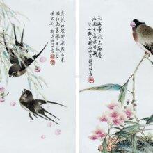 揭底2018年珠山八友刘雨岑瓷板画价格多少钱图片
