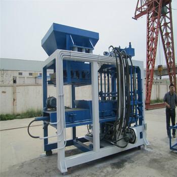 全自动液压免烧制砖机水泥制砖机全套生产线设备彩色路面砖机
