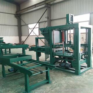 空芯砌块砖机全自动免烧砖机环保制砖机生产线图片2
