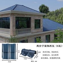 重慶城口別墅屋面瓦瓦型經典圖片
