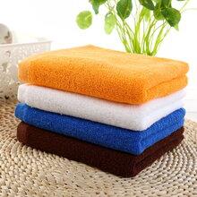 厂家直销白方巾毛巾浴巾地巾大量批发出售