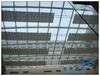 電動采光頂遮陽簾中廳玻璃頂棚簾折疊式遮陽布