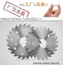 320帶4刮刀板條鋸片多片鋸專用鋸片合金鋸片廠家批發圖片