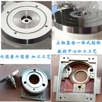 广东厂家直销HSD-180DT精密角度工作台气动旋转盘