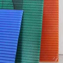 滦县三层阳光板绿色耐力板采光板怎么卖多少钱一平图片