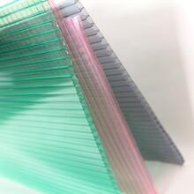 巴中pc耐力板安装屏风专用颗粒板磨砂板工程阳光板温室造价图片