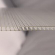 三明阳光板厂家流程洗手间隔断磨砂板PC板材批发厂家图片