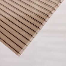 合肥耐力板雨棚施工方案阳光板安装方法PC板材环保专用图片