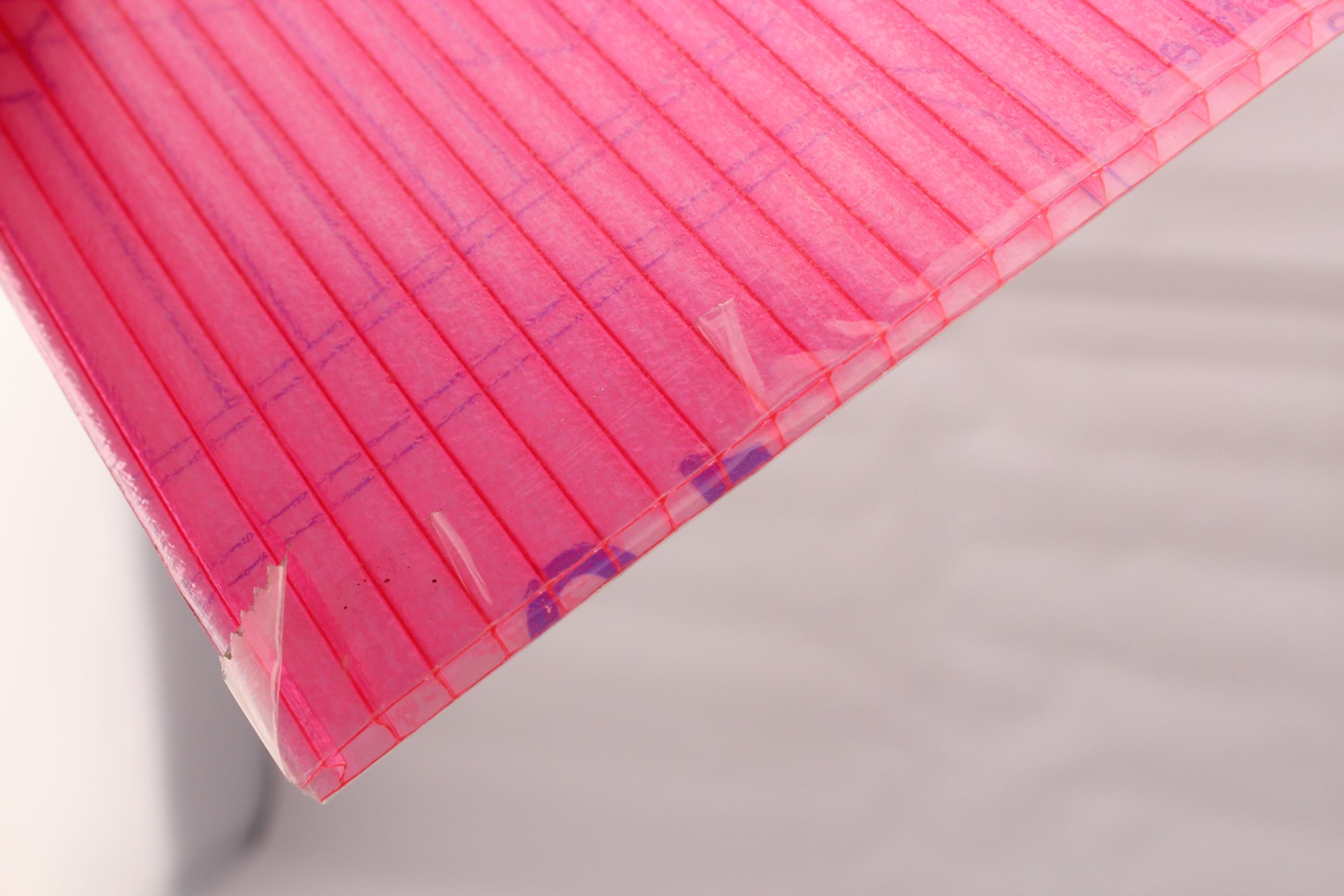 潍坊阳光板价格PC颗粒板PC板材加工阳光板车库图片