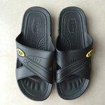 厂家直销全新料舒适款SPU静电拖鞋防静电拖鞋防静电工鞋