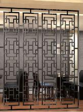新中式仿古不锈钢屏风价格批发不锈钢屏风厂家图片