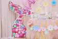 长沙创意生日派对策划周岁宴布置气球布置唯美独角兽生日趴