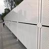 白色冲孔板围挡现货江门市城市建设专用施工围蔽新型围挡