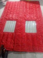 冬季磁吸门帘厂,PU棉门帘图片