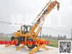 出售最新款建輝重工四驅越野行走吊裝載機吊車鏟車吊車廠家直銷