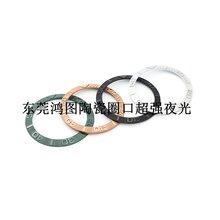 供應手表配件東莞鴻圖陶瓷圈口加工圖片