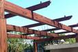 韶关木纹漆施工景区钢构长廊凉亭仿木纹漆施工厂家-福州涂料壁纸