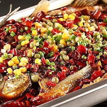 龙潮美式炭火烤鱼加盟