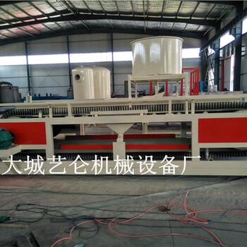 济南防火A级无机硅质渗透板设备硅质聚苯板生产设备