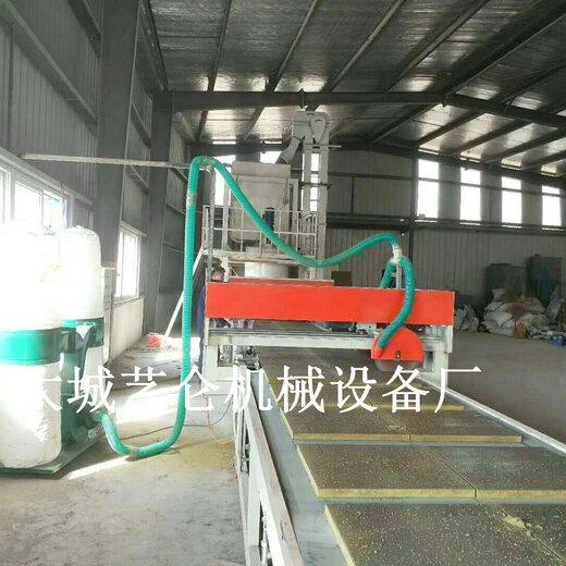 水泥砂漿巖棉復合板設備巖棉砂漿生產線產品操作技術要求指導