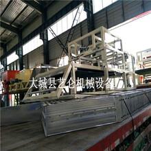 大型A級防火水泥發泡板設備,外墻模具發泡水泥發泡板生產線圖片