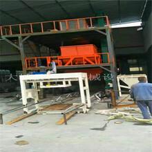 压制式匀质板切割设备与模箱型水泥基匀质板切割机操作细节图片