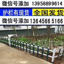 安徽芜湖花坛草坪护栏塑料栅栏图片