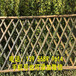 无锡市pvc绿化护栏绿化围栏墨绿色,咖啡色