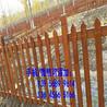 张家界市pvc塑钢栅栏pvc塑钢栏杆墨绿色,咖啡色