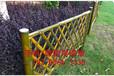 福建福州围墙护栏仿木纹栏杆竹篱笆竹子护栏