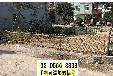 福建武夷山户外伸缩PVC塑钢草坪护栏竹篱笆竹子护栏
