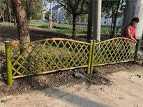 浙江衢州花園隔斷裝飾戶外花壇木制護欄竹籬笆竹子護欄圖片5