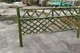 福州竹篱笆墙防腐碳化木竹篱笆竹子护栏
