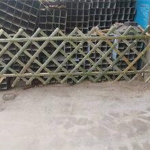 山東泰安戶外竹籬笆幼兒園圍欄竹籬笆竹子護欄圖片