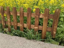 貴州銅仁防腐竹子花園木樁竹籬笆竹子護欄圖片3