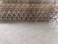 浙江衢州花園隔斷裝飾戶外花壇木制護欄竹籬笆竹子護欄圖片1