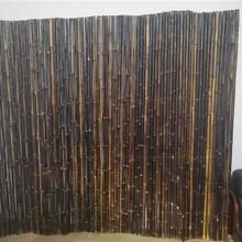 芜湖竹子栅栏木栅栏竹篱笆竹子护栏图片