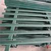 浙江淳安院子圍欄伸縮碳化木護欄竹籬笆竹子護欄