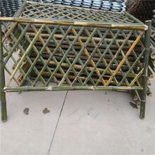 廣元碳化防腐木伸縮碳化木護欄竹籬笆竹子護欄圖片
