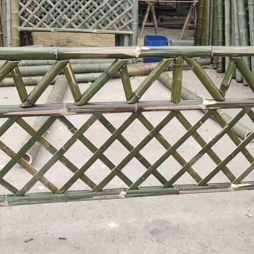 咸宁草坪护栏花池小护栏篱笆笆竹子护栏