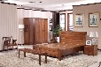 出售木言木語實木床1.8米中式經濟型大床